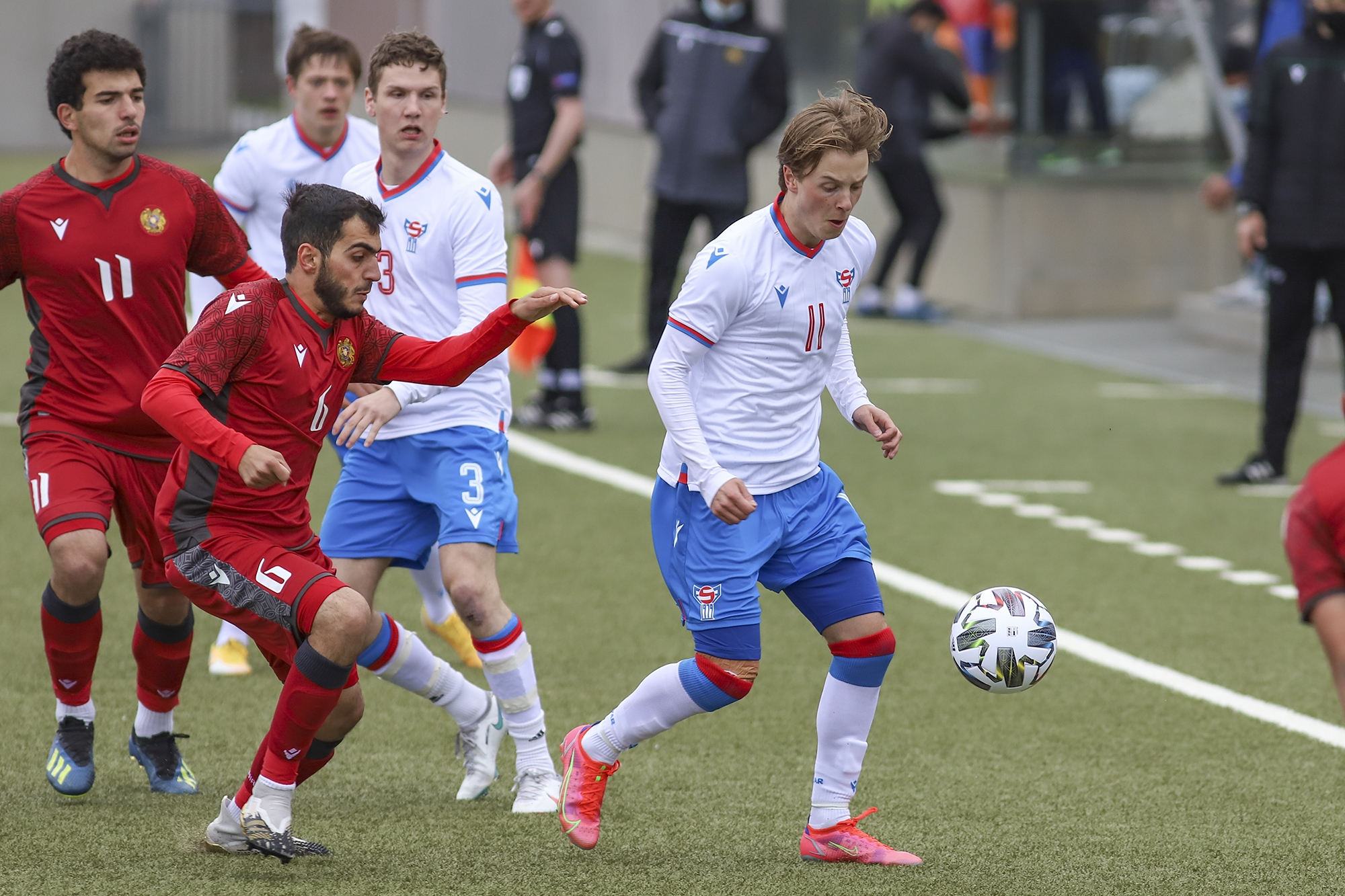 Lukas aftur á U21-landsliðnum